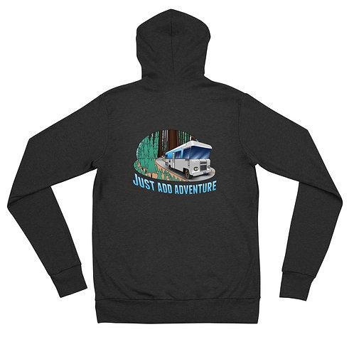 RVD Just Add Adventure Unisex zip hoodie
