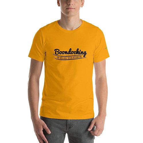 RVD Boondocking Social Distancing Short-Sleeve Unisex T-Shirt