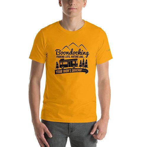 RVD Boondocking in Parkinglot Short-Sleeve Unisex T-Shirt