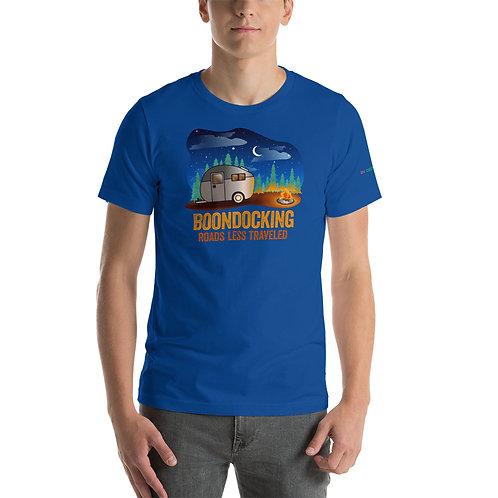 RVD Boondocking Roads Less Traveled Short-Sleeve Unisex T-Shirt