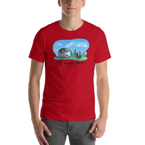RVD My Happy Place Short-Sleeve Unisex T-Shirt