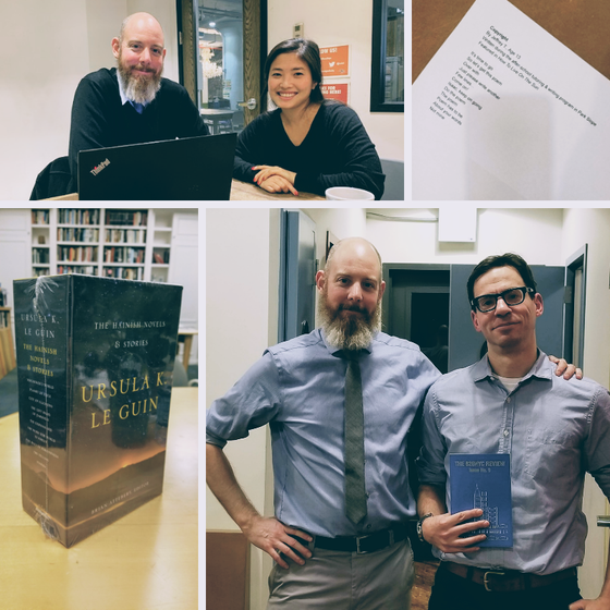 The Writing Episode: 826NYC, Library of America and Walking in Other People's Shoes