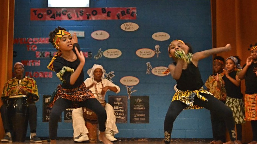 From Imani House's Winter Recital 2018