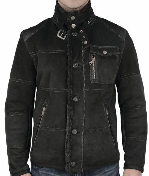 Owen shearling jacket antracit