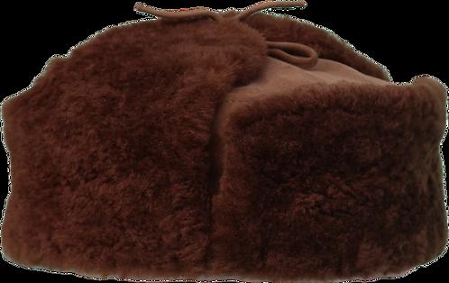 Cacula ruseasca din blana naturala velur