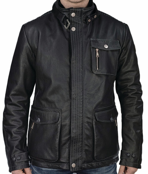 Prince leather jacket black