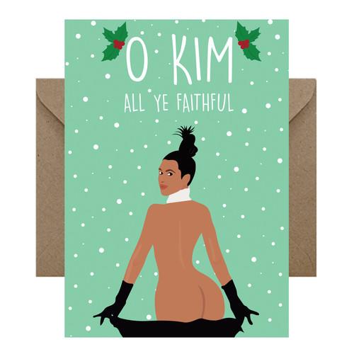 Birthday Cards Funny Cards Celebrity Cards Greeting Cards – Kim Kardashian Birthday Card