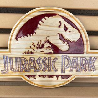 "18"" Jurassic Sign"