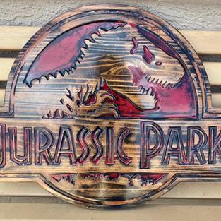 """30""""w Jurassic Sign"""