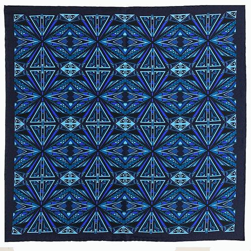 Geometric- Blue