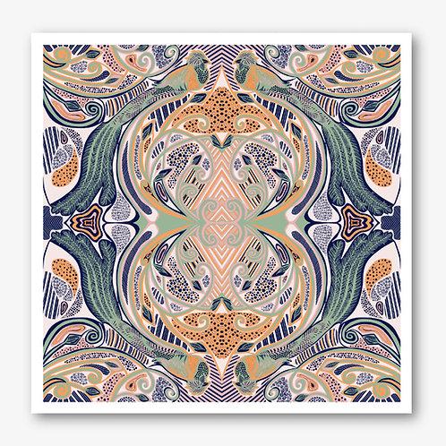 Quetzal Pastels Fine Art Giclée Print