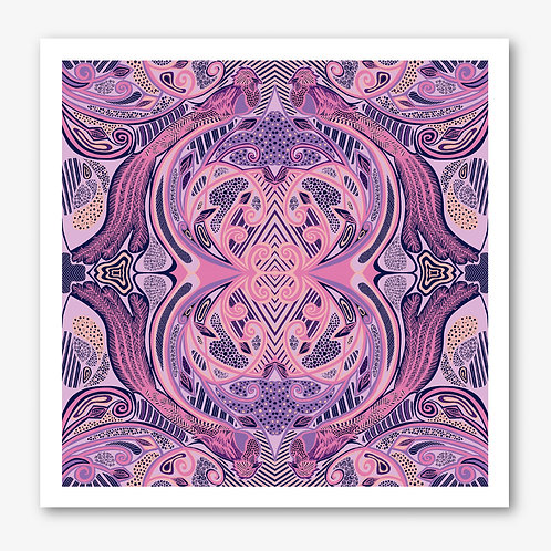 Quetzal Pink Fine Art Giclée Print