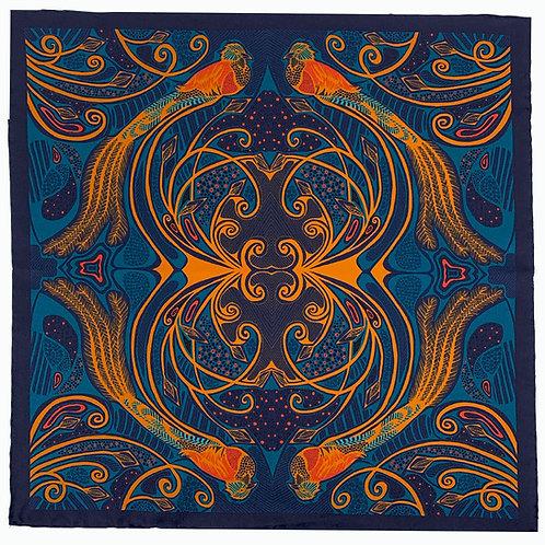 Quetzal - Navy & Gold