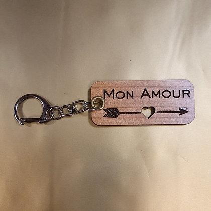Porte Clés Mon Amour