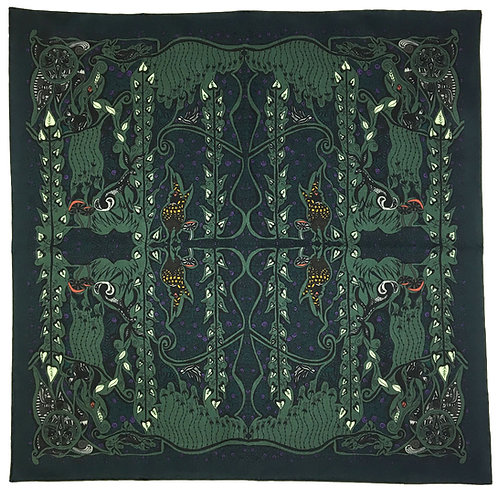 Enchanted Forest Pheasant Green