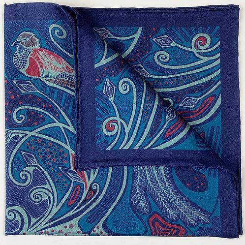Quetzal - Blue & Pink