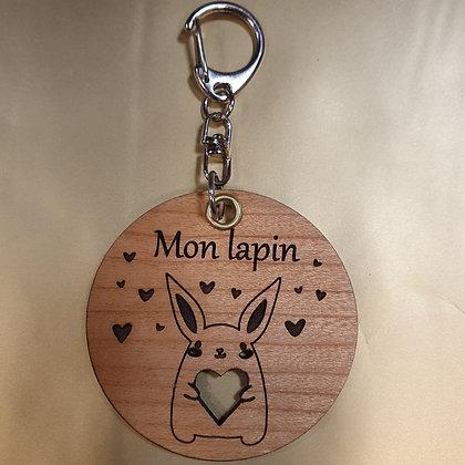 Porte Clés Mon Lapin