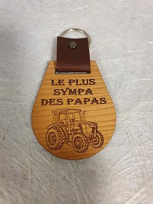 Porte-clés papa sympa