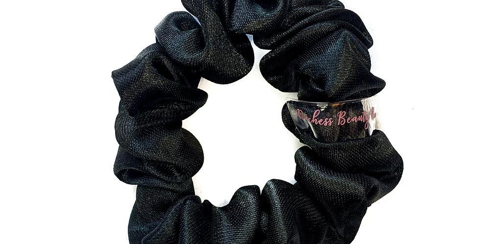 Skinny Black Silk