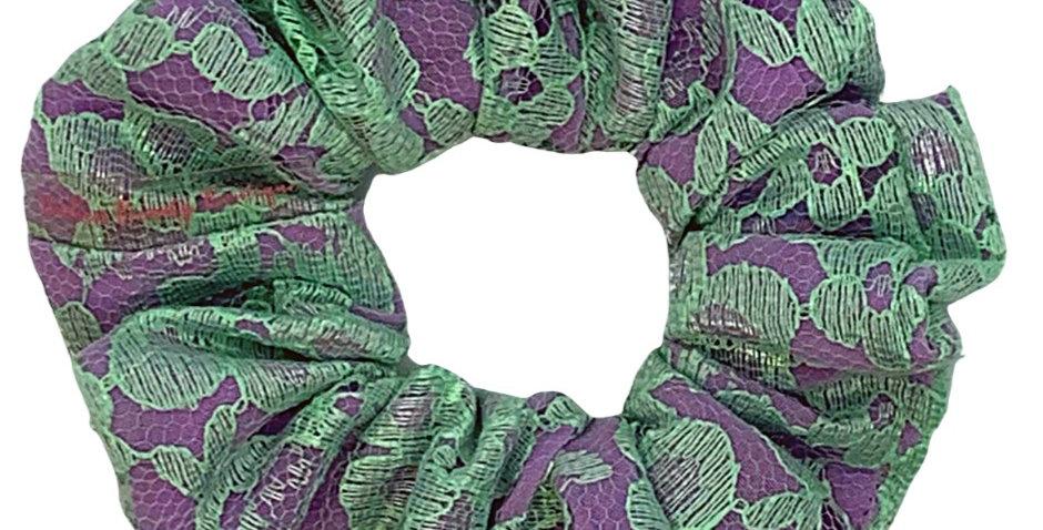 Mint & Purple Lace