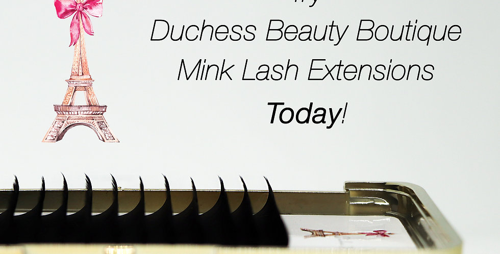 Lash Extension Tray D-Curl 2.0