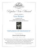 People & Paintings Gallery Award