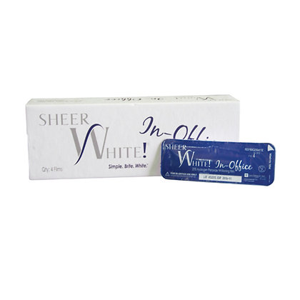 Sheer White! In-office whitening strips (6 patient pack)