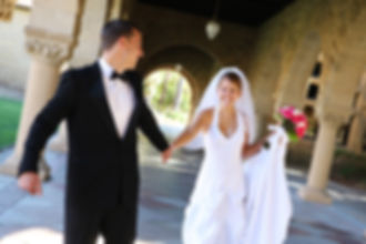 Getting married, plan for your future - Married couple holding hands