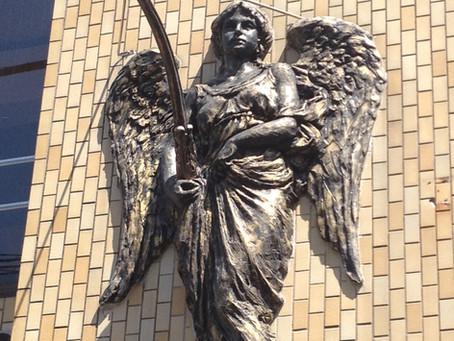 天使に守られて