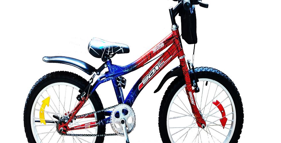 Bicicleta Modelo spiderman Aro 20