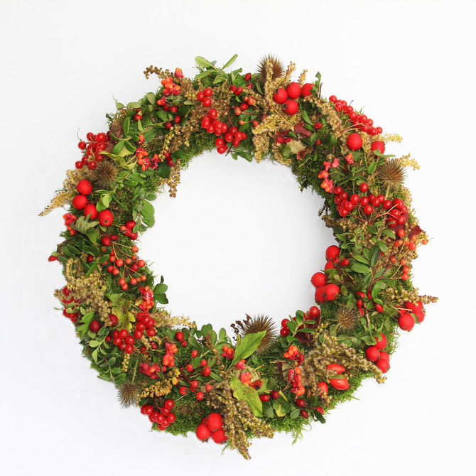 Exclusive Christmas Wreath Course