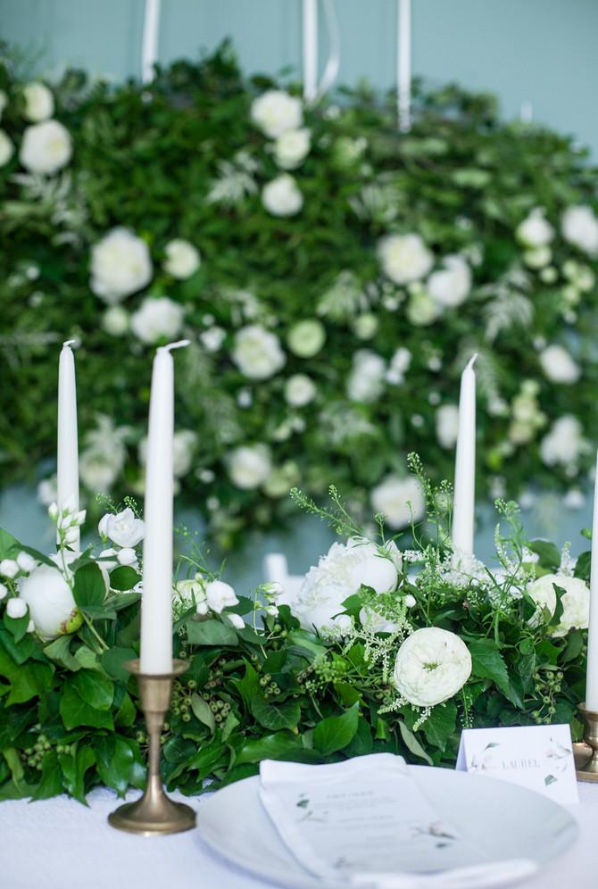 Wedding course Royal White Wedding