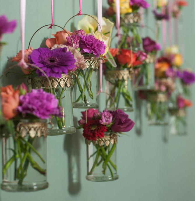 Bollywood Wedding-Day 5 Wedding flower workshop
