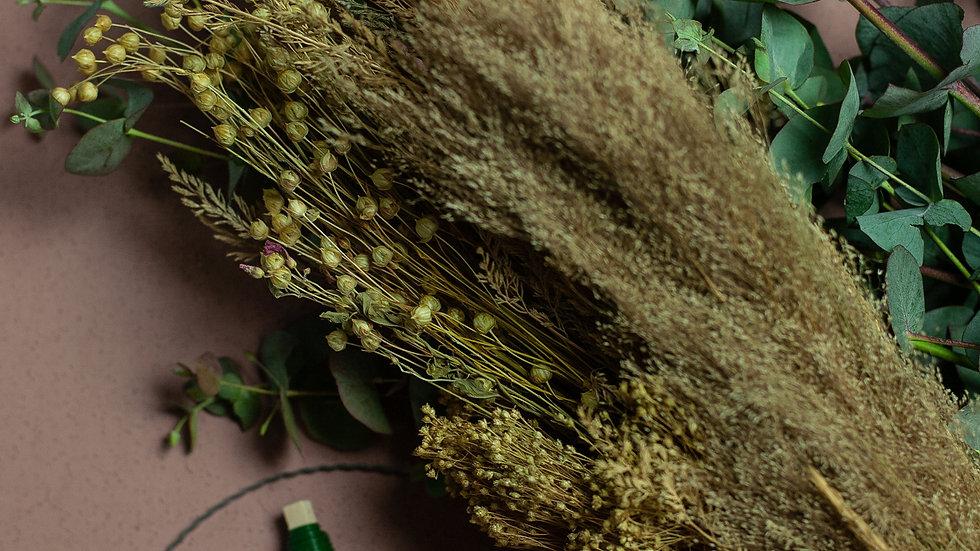 DIY Wreath Box Natural