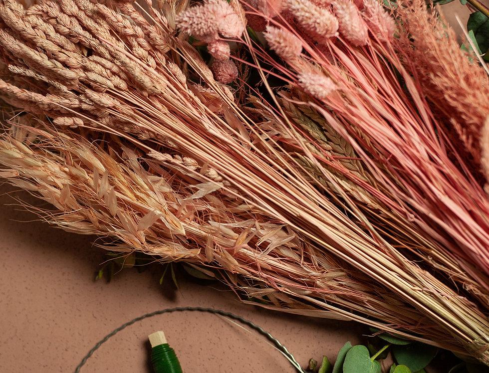 DIY Wreath Box Pink