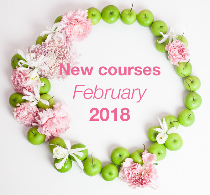 Courses Start in February 2018