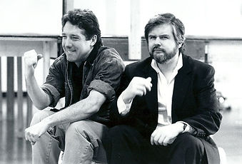 Michael Rupert and Christopher Durang