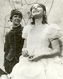 Christopher Durang and Ruth Nerken in A Royal Pardon