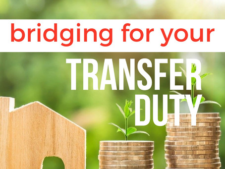 Bridging Finance For Your Transfer Duty