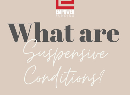 What Are Suspensive Conditions?