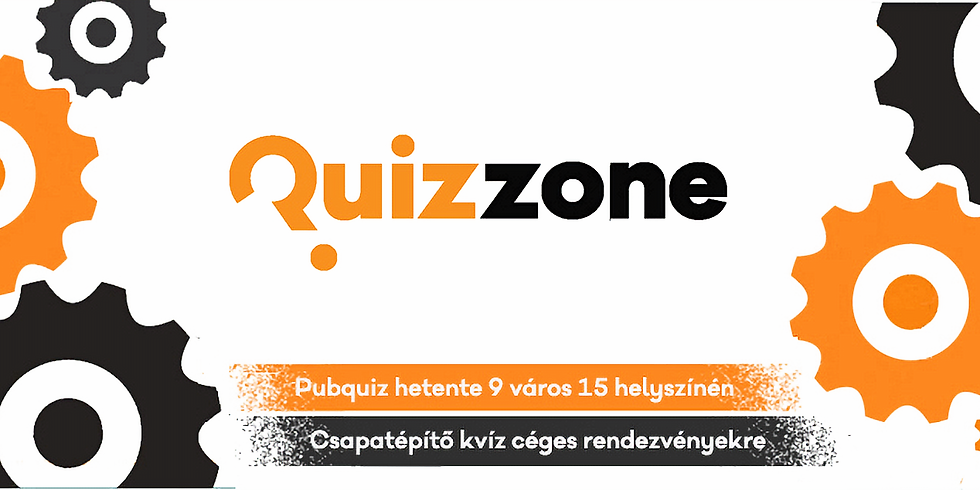 QUIZZONE kupa 3. - 2019. szeptember 17. 18,30 óra
