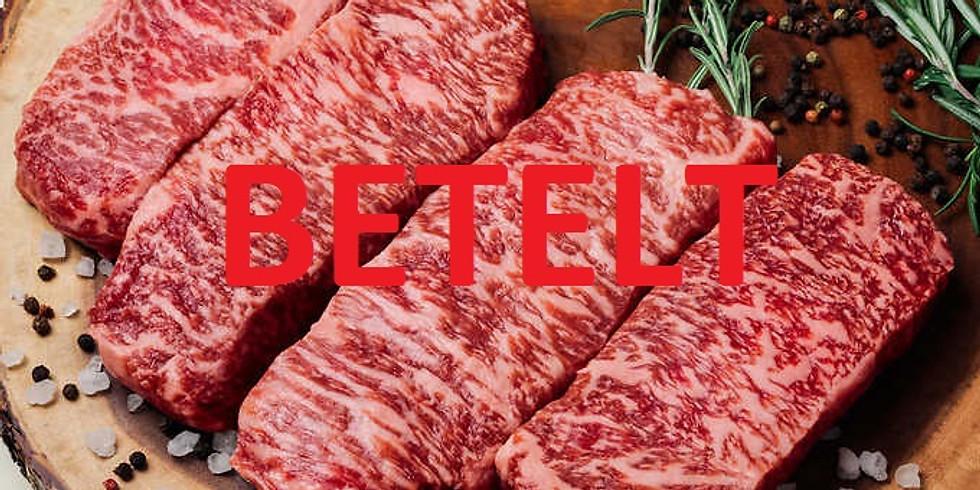 WAGYU steak - 2020. július 9. 18 óra