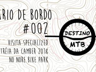 DIÁRIO DE BORDO DESTINO MTB #002