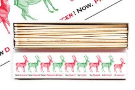 Reindeer Extra Long Matches