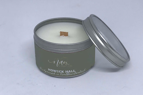 Mini Candle Tin - Howick Hall