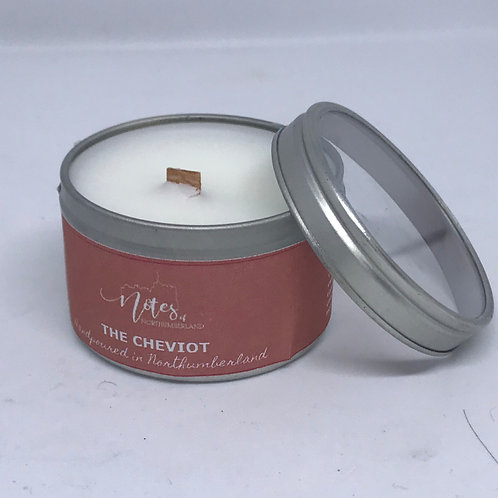 Mini Candle Tin - The Cheviot