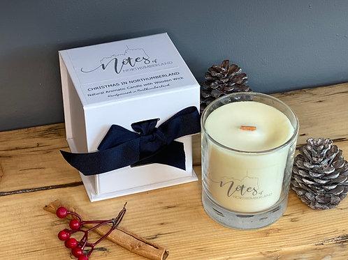 Wood Wick Candle - Christmas in Northumberland