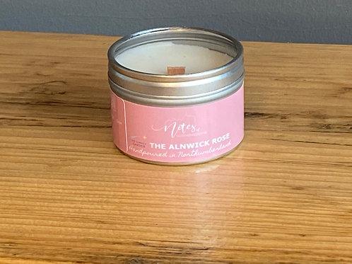 Mini Candle Tin - The Alnwick Rose