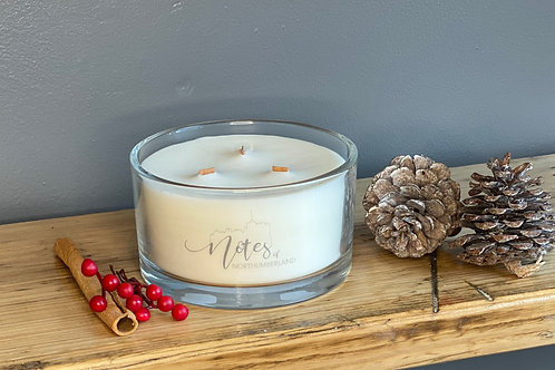 Signature Three Wick Candle - Christmas in Northumberland