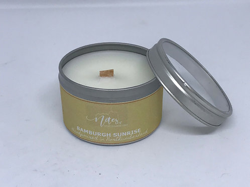 Mini Candle Tin - Bamburgh Sunrise